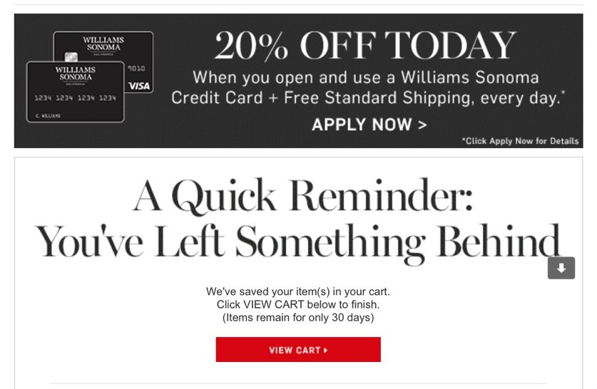williams-sonoma-triggered-email