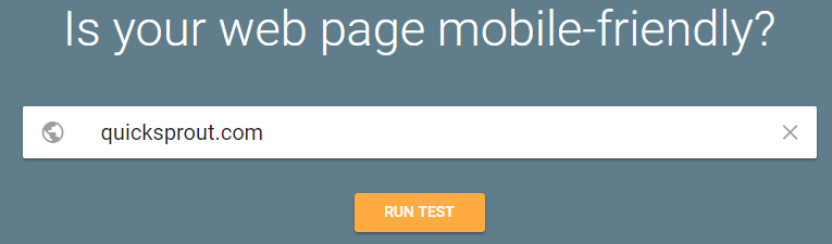 improve google ranking mobile friendly test