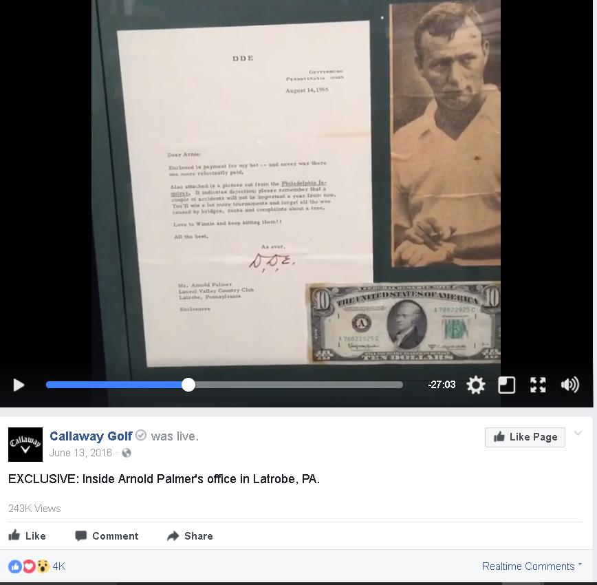 Callaway Arnold Palmer