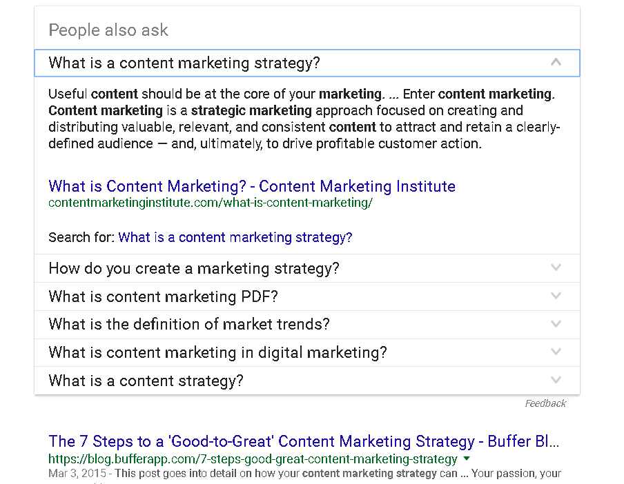 Content Marketing Google Schema