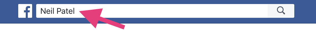 Facebook search bar how to increase organic reach