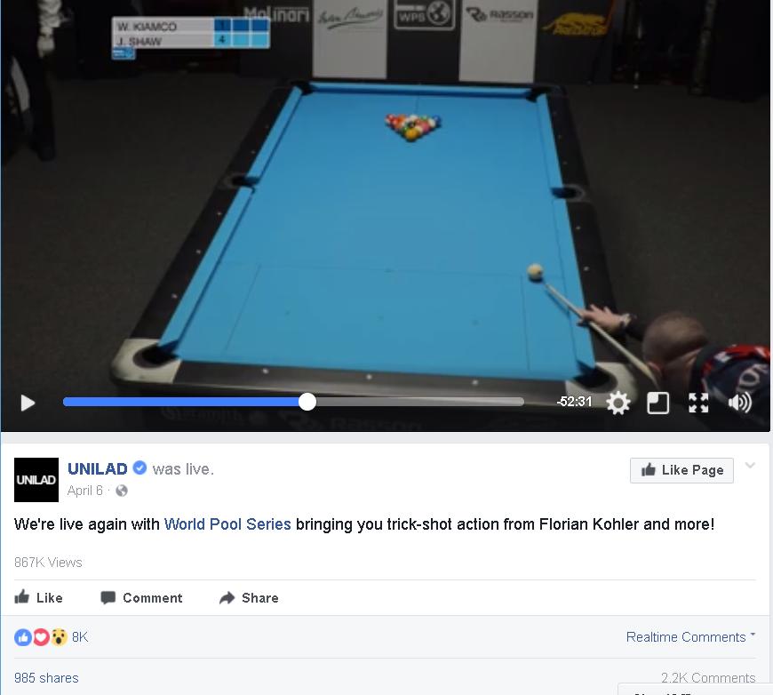 UNILAD World Pool Series