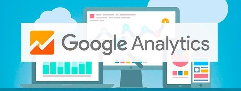 ilustração junto de título do google analytics