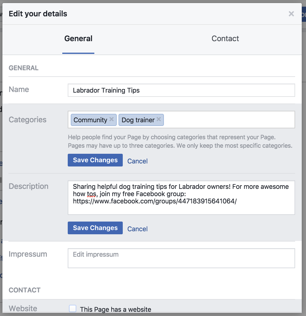 add categories how to grow your facebook group