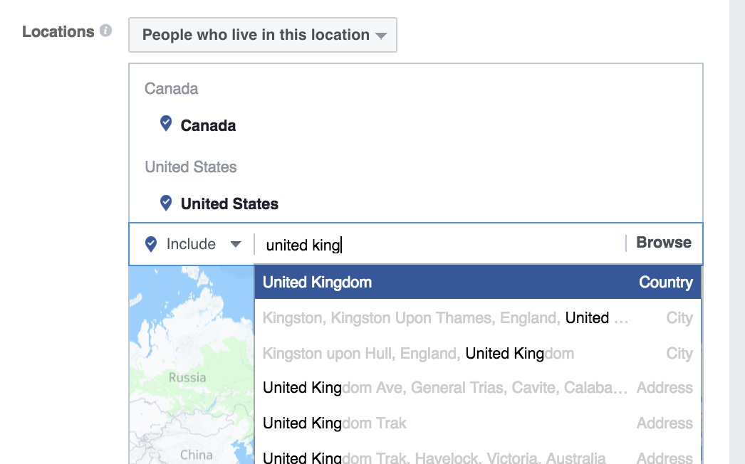 grow your facebook group location