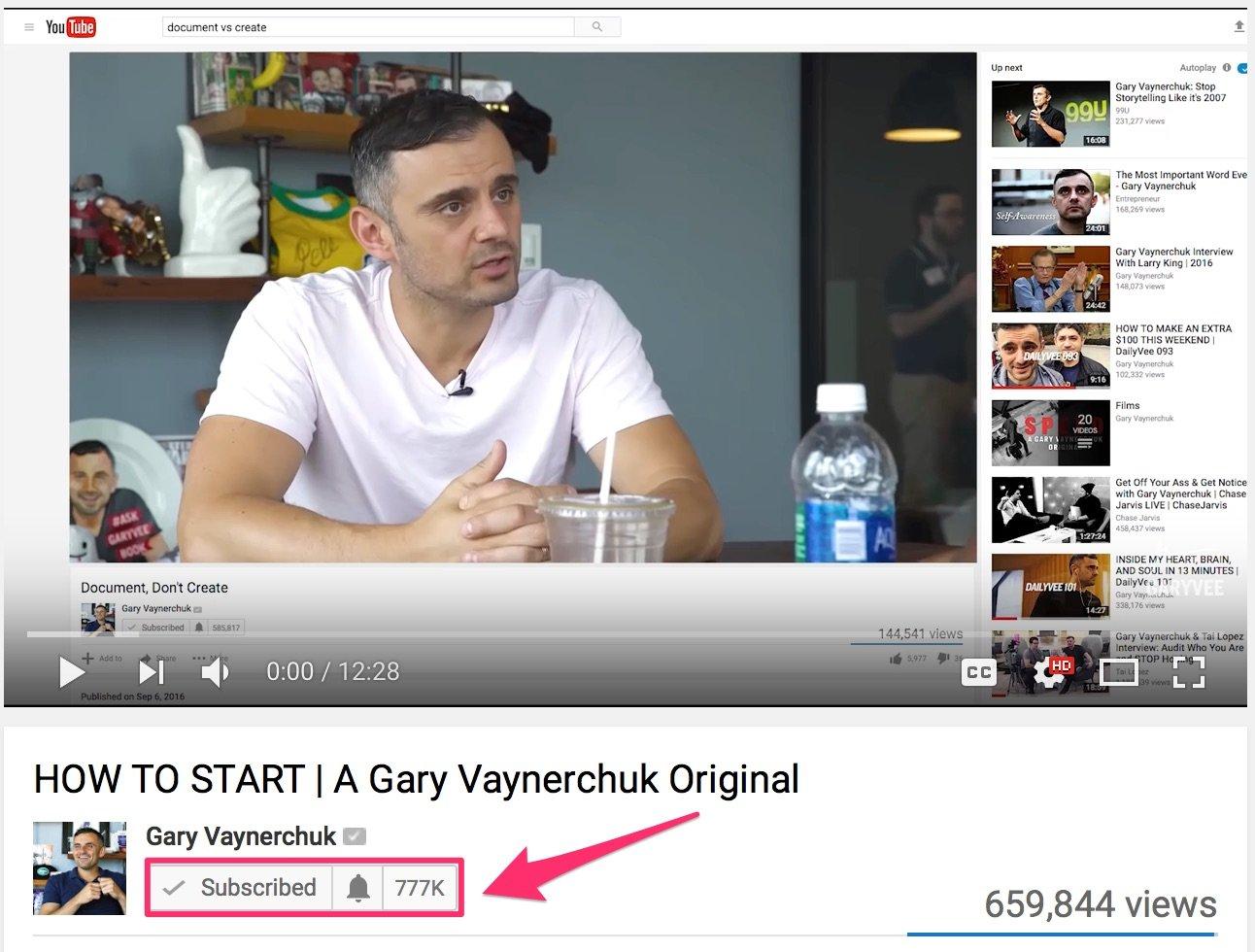 1 HOW TO START A Gary Vaynerchuk Original YouTube