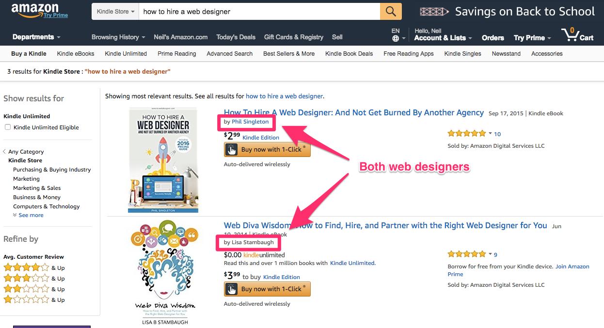 Amazon com how to hire a web designer Kindle Store