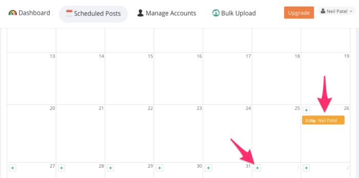 Autogrammer Instagram scheduling tool