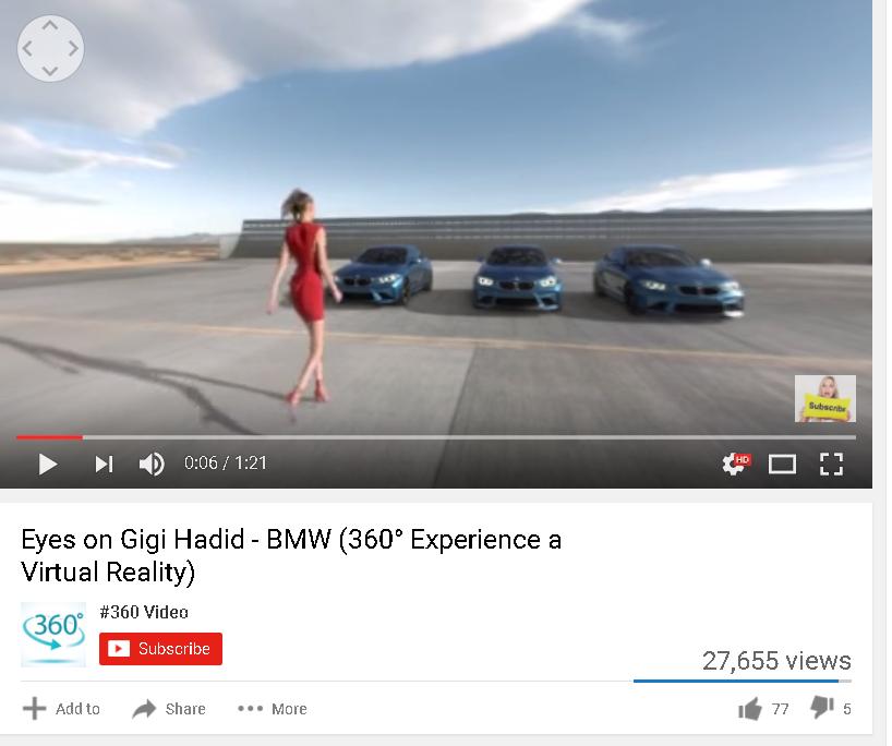 BMW 360 video