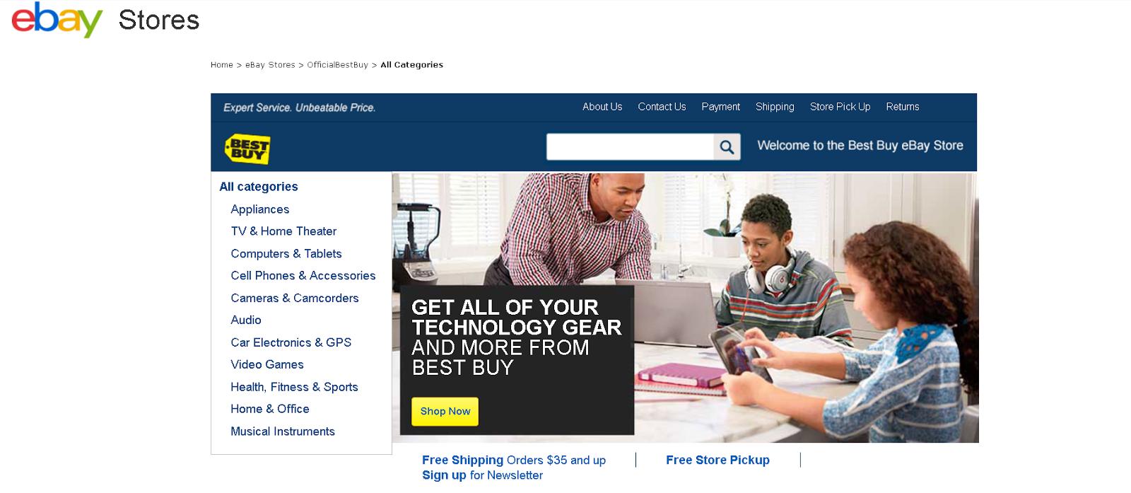 Best Buy eBay Store