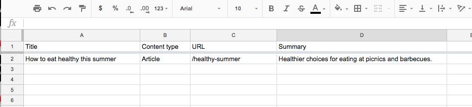 Content Inventory NeilPatel com Google Sheets 3
