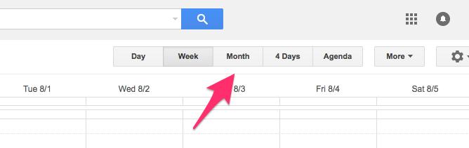 Google Calendar Week of Jul 30 2017 3