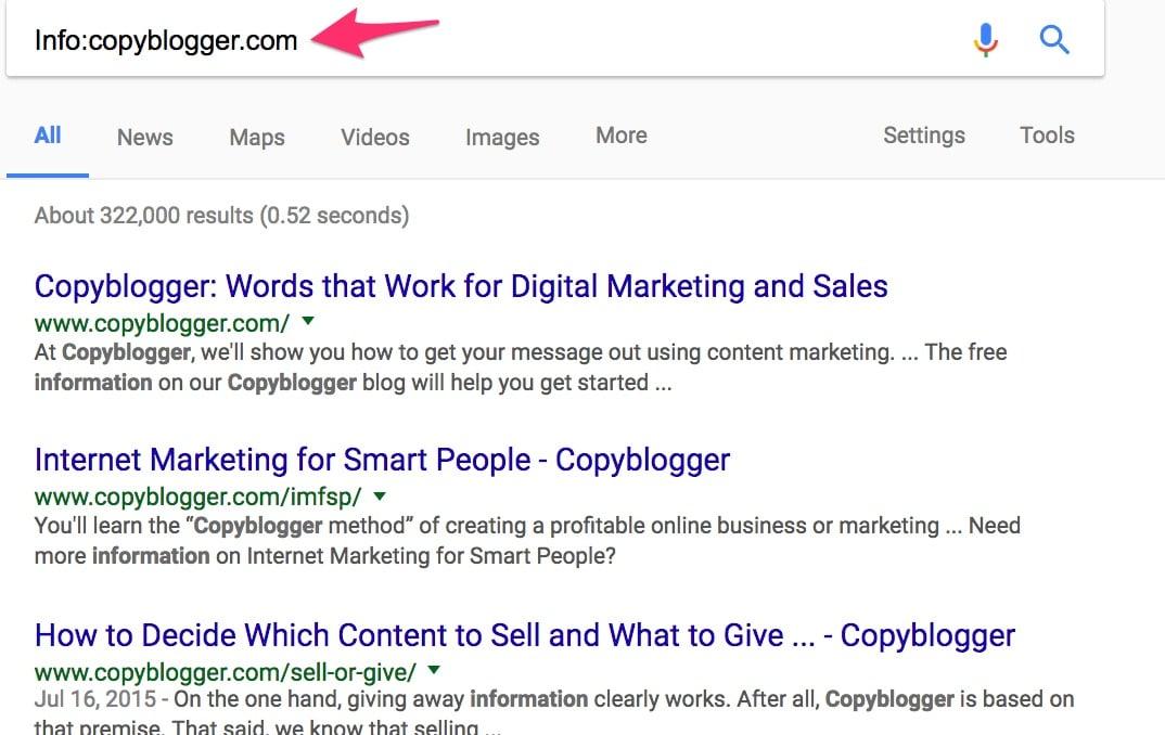 Info copyblogger com Google Search