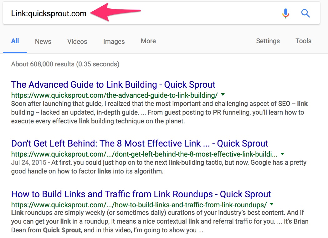 Link quicksprout com Google Search