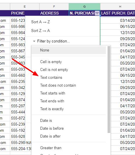 NEIL PATEL CRM EXAMPLE Google Sheets 13