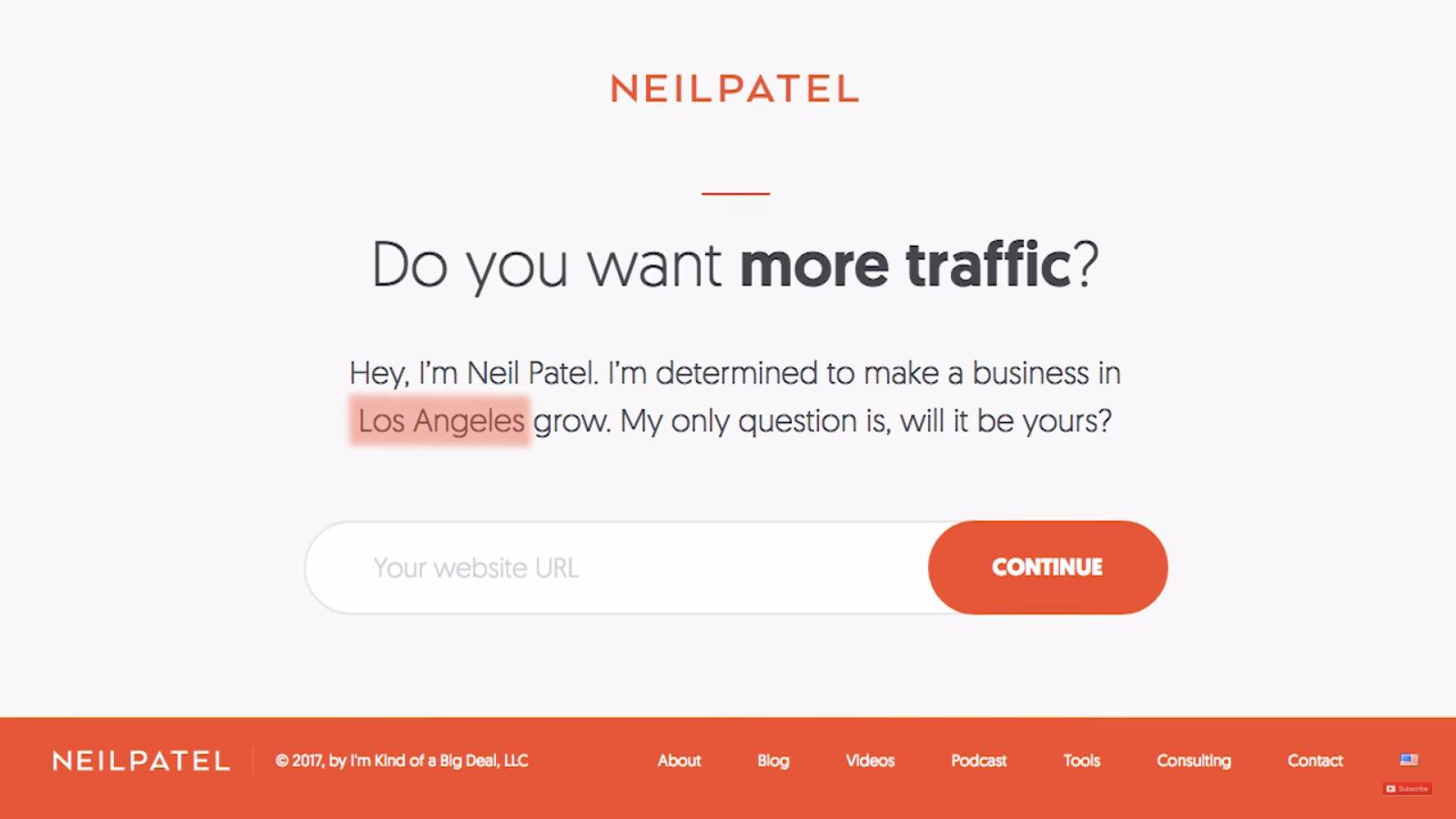 Neil Patel Geotarget