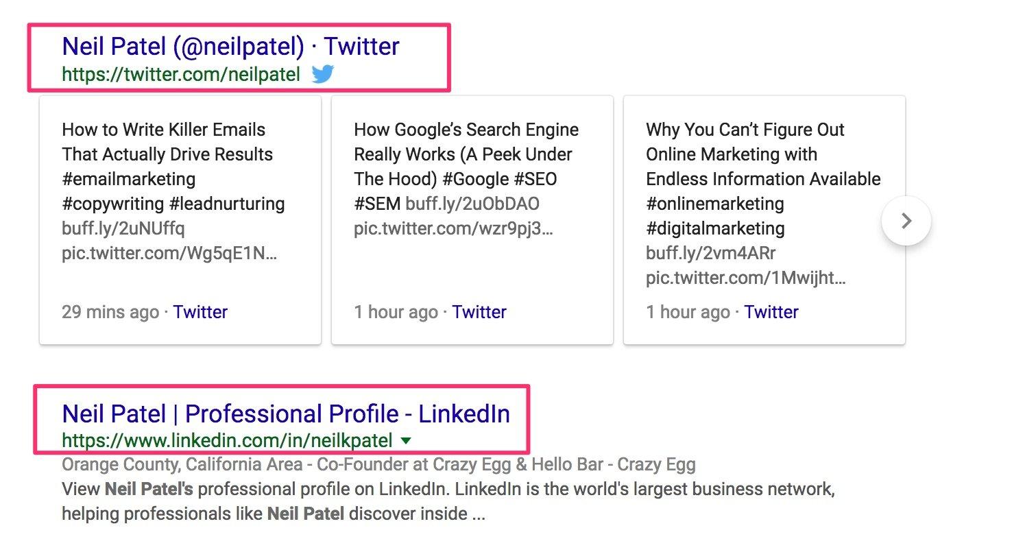 Neil Patel Google Search 4