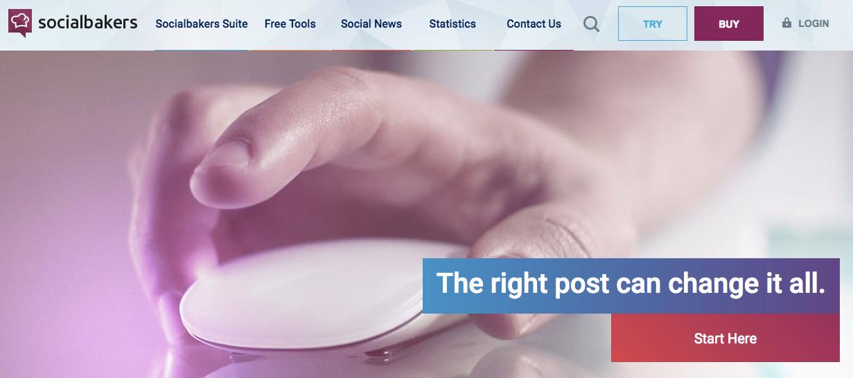 Social Media Marketing Analytics Performance Tools Socialbakers
