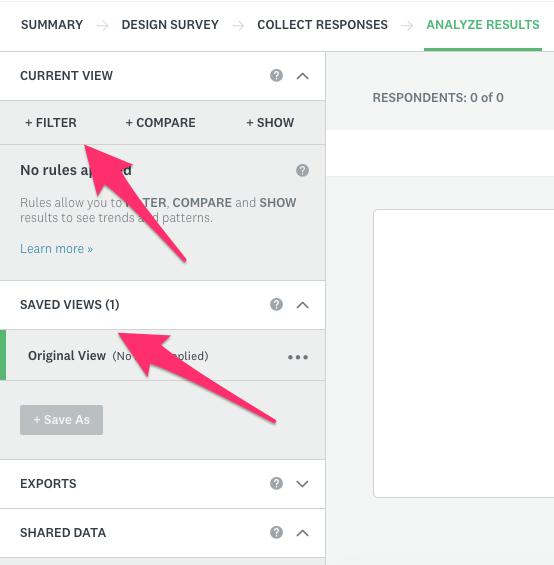 SurveyMonkey Analyze Test