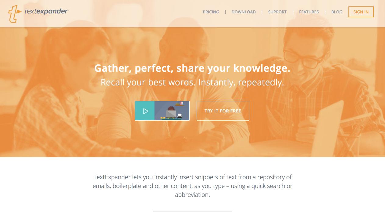 TextExpander Productivity App Text Expander
