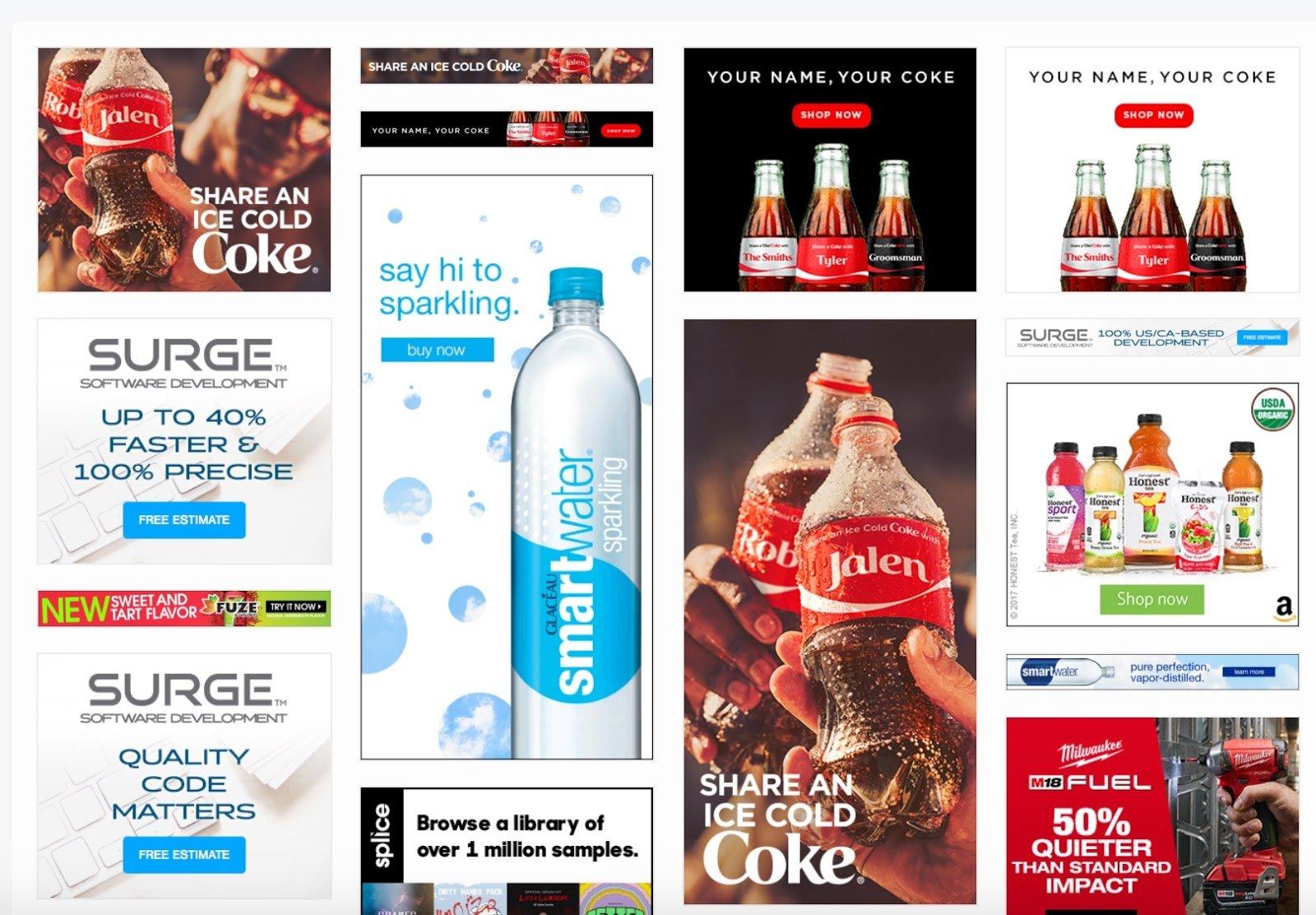 The Coca Cola Company Creatives Moat
