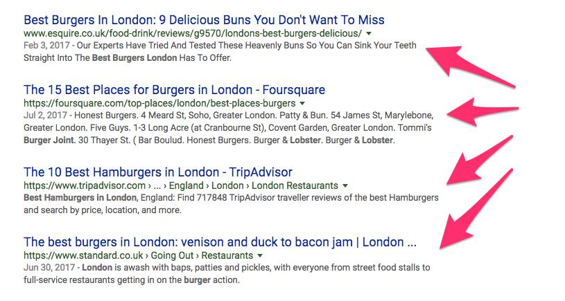 best burgers in london Google Search