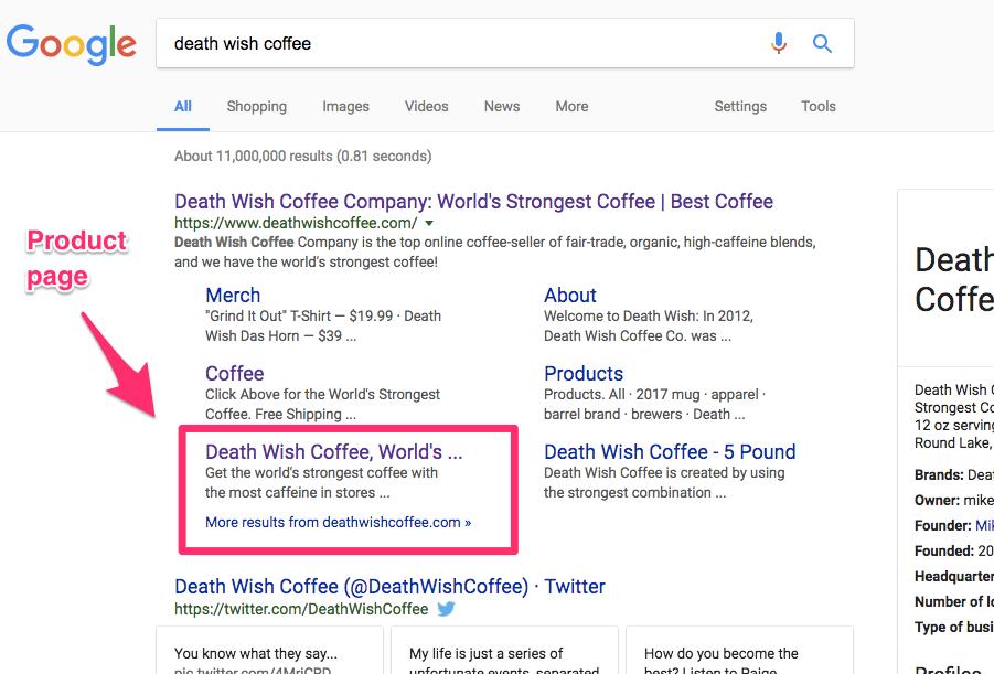 death wish coffee Google Search