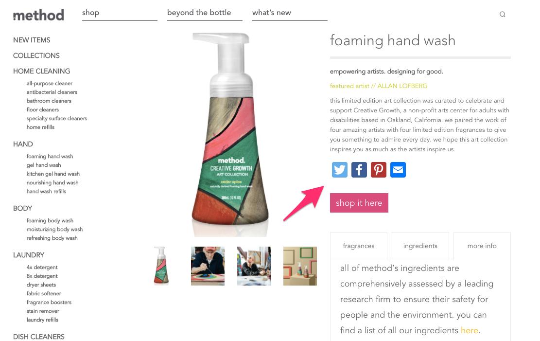 foaming hand wash cedar spice method