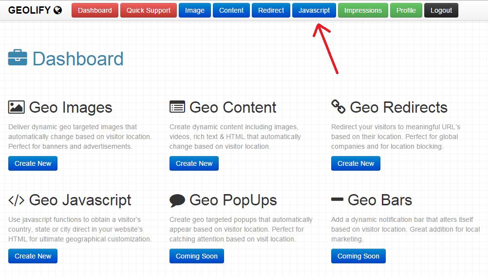geolify geo javascript service