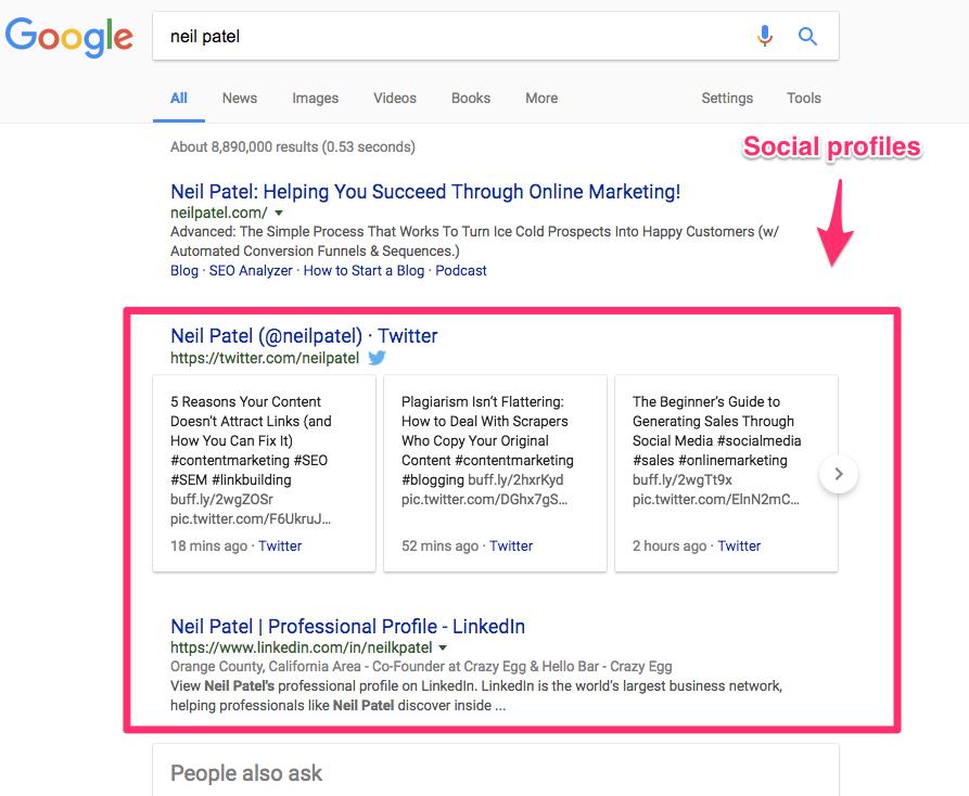 neil patel Google Search