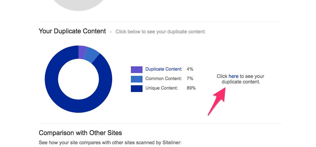 neilpatel com Site Report Siteliner