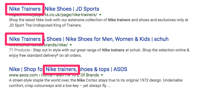 nike trainers Google Search