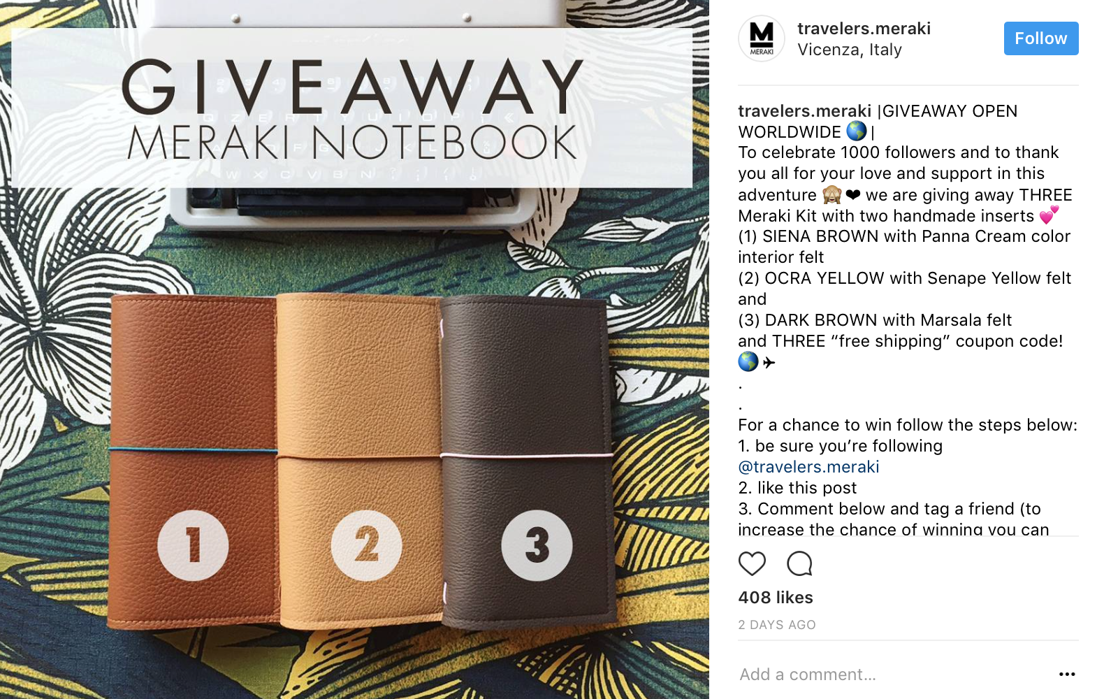 Image result for instagram free product giveaway