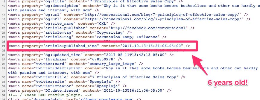 view source https conversionxl com blog 7 principles of effective sales copy