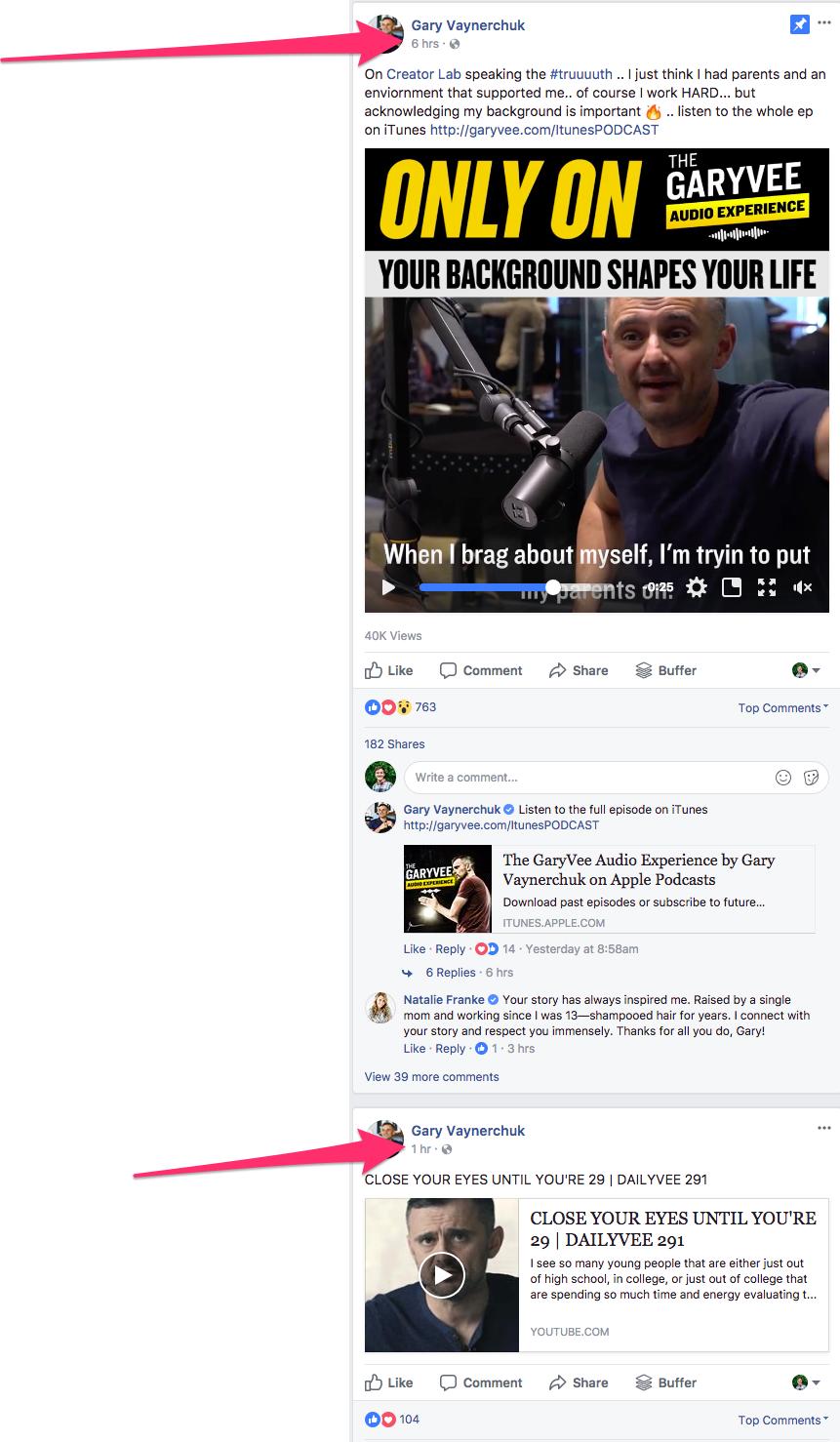 1 Gary Vaynerchuk Posts
