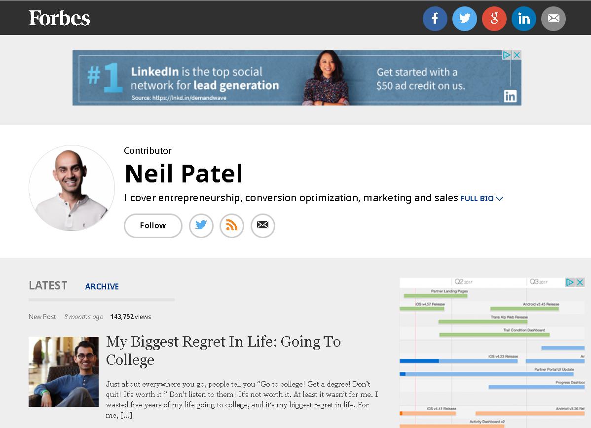 Neil Patel 60