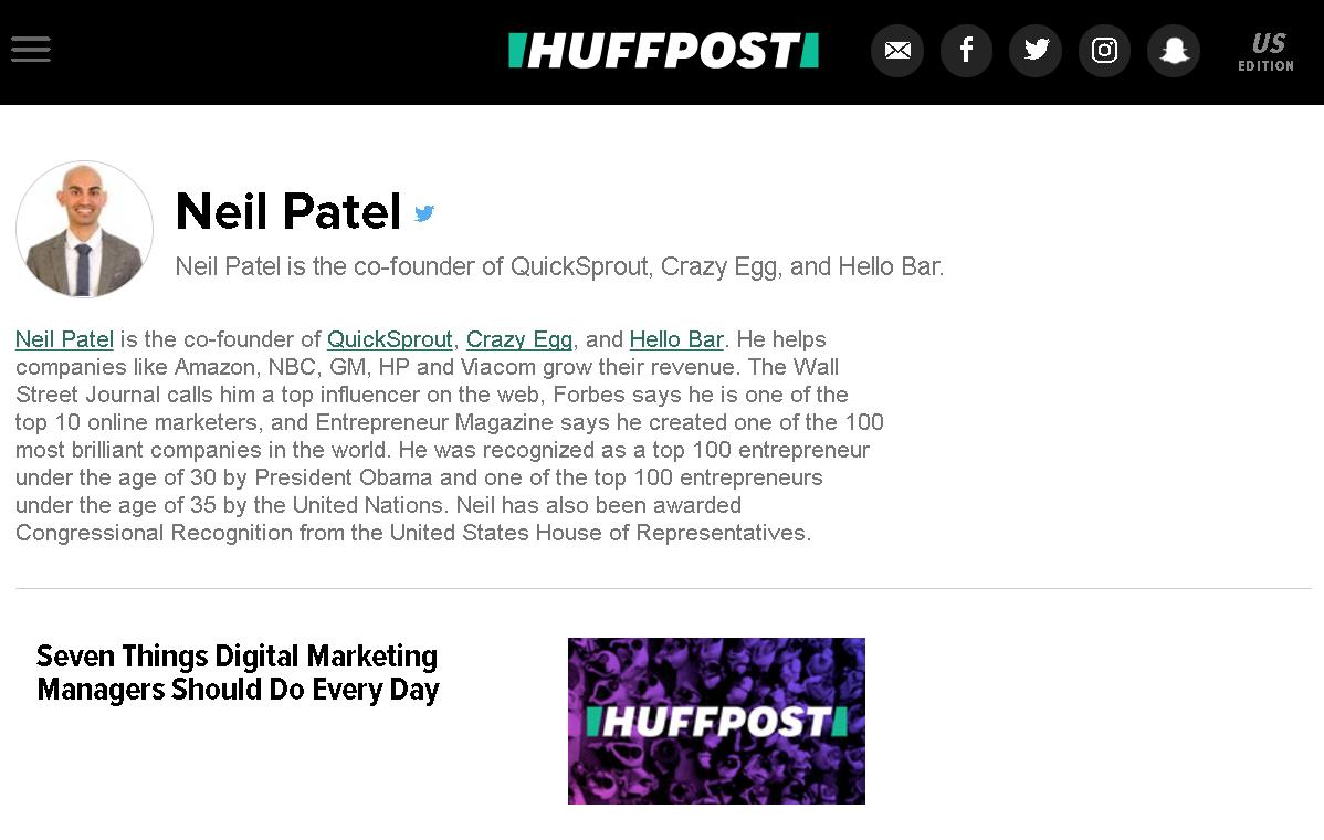 Neil Patel 88