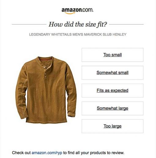 amazon customer email