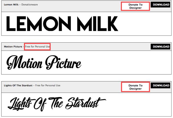 find a font 1001 free fonts