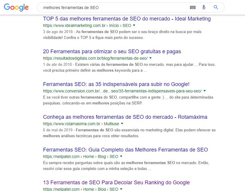 dicas de como aparecer no google