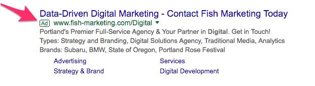 digital marketing Google Search