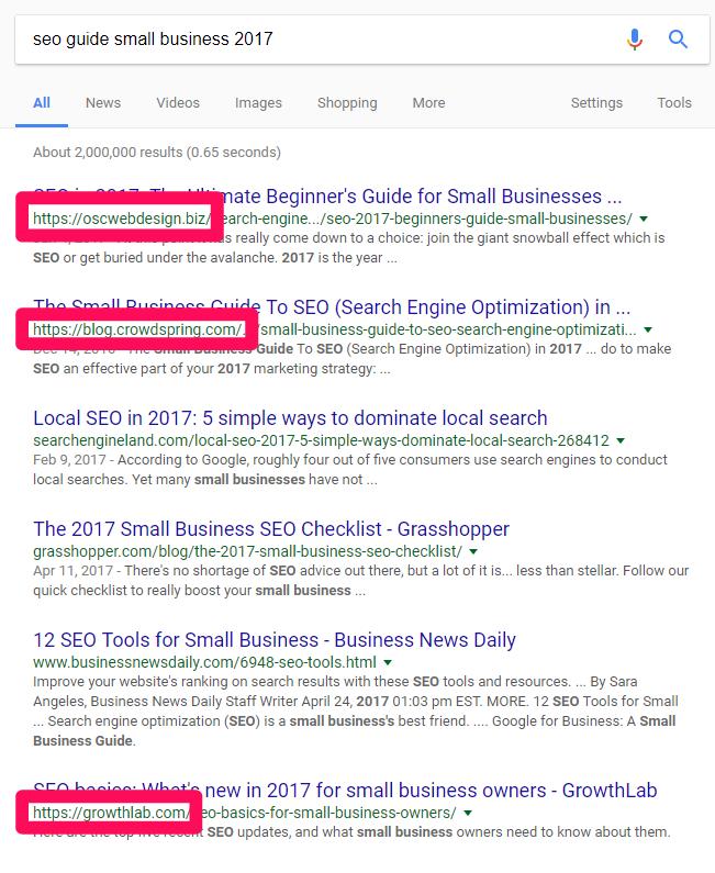 sites de resultados de pesquisa no google