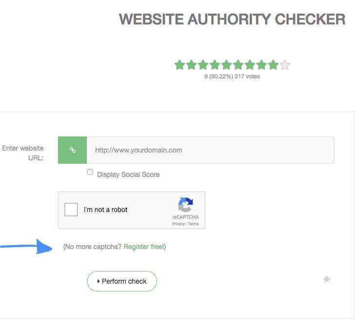 Vérificateur d'autorité de site Web PR DA PA MOZ Backlinks 4