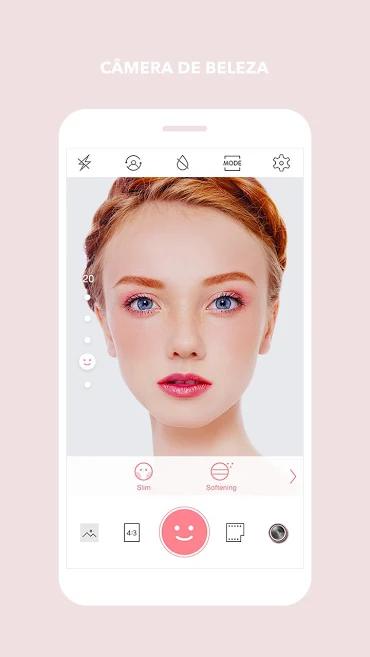 aplicativo de fotos Cymera