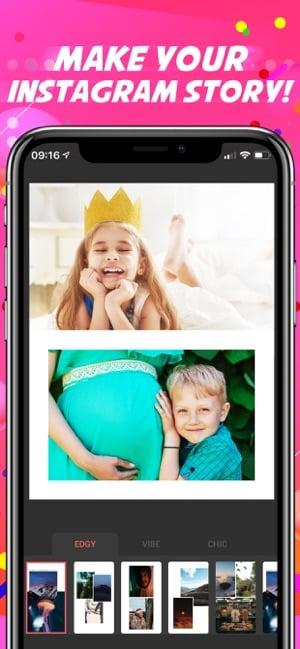 aplicativo de fotos e colagens PhotoCollage