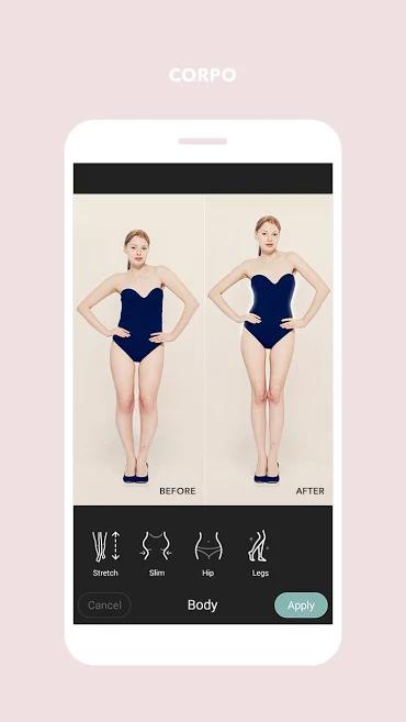 aplicativo de fotos para edições estéticas Cymera