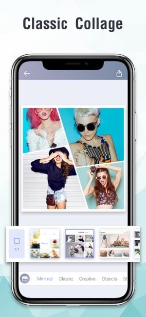 aplicativo de fotos para montagens InstaMag