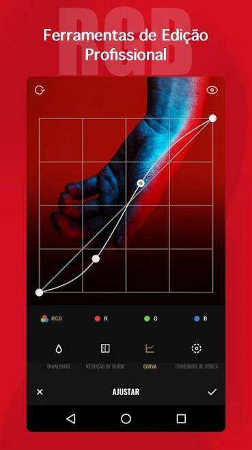 aplicativo de fotos para transformação de imagens Fotor