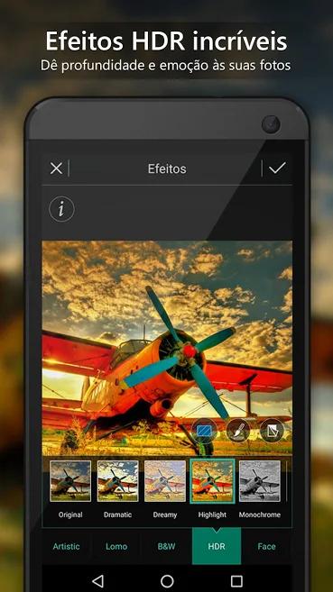 aplicativo de fotos Photo Director