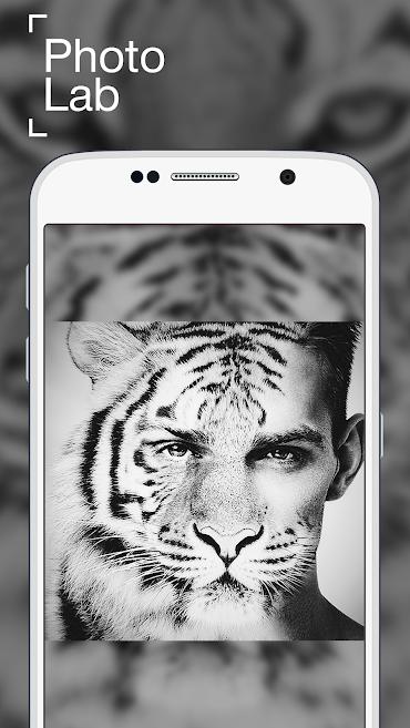 aplicativo de montagem em fotos Photolab